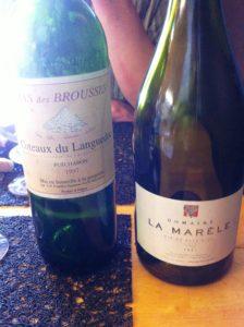 La Marèle 2007 – Mas des brousses 1997 : les goûts et les saveurs !