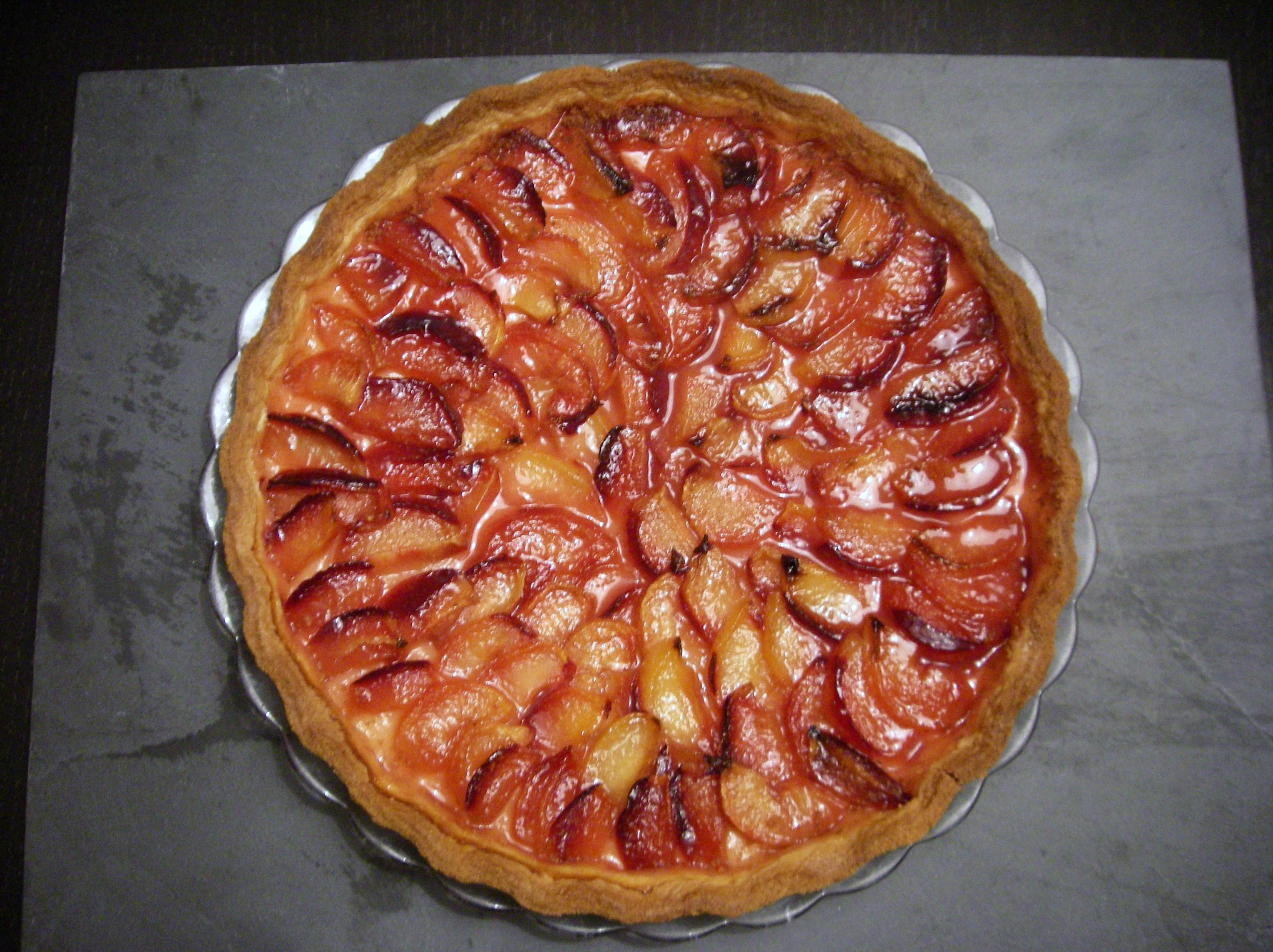 tarte sabl 233 e aux prunes et au gingembre bobstronomie ca se boit et 231 a se mange