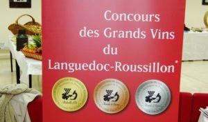 bOb à la soirée du palmarès du concours des Grands Vins du Languedoc-Roussillon 2012