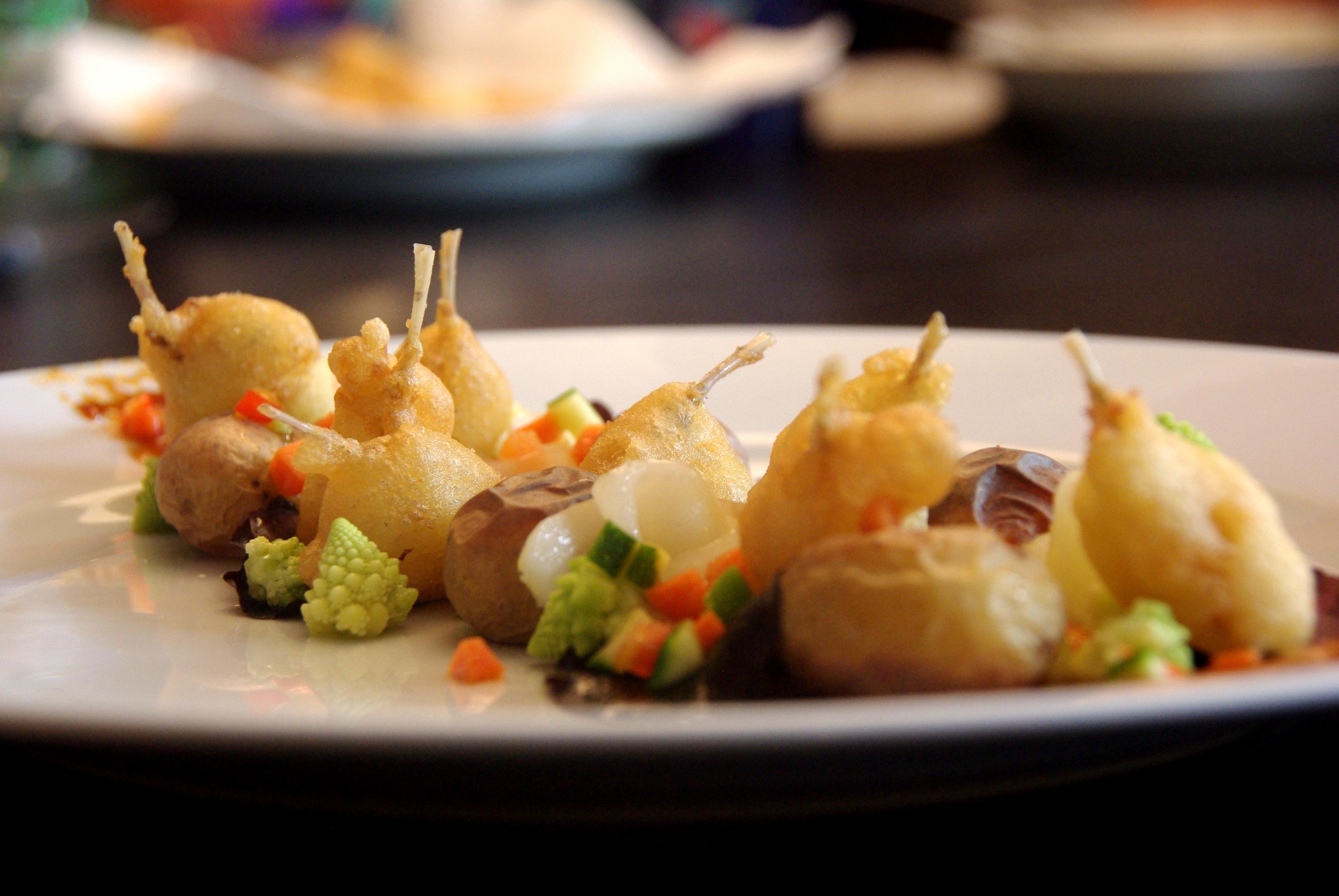 Beignets de cuisses de grenouilles rattes au four - Cuisiner cuisses de grenouilles surgelees ...