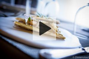 VIDEO – Paul Courtaux, Le Saint-Georges : Couteaux en cuisson douce et croûte d'amande