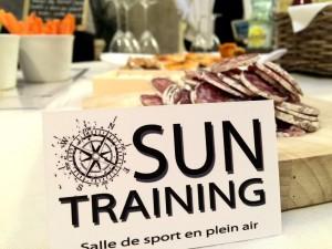Sport et apéro c'est possible avec AfterSport de Sun Training