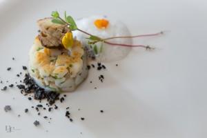 Luc Neyhouser – Saint-Jacques, bolets, topinambour et poudre d'olive