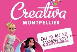 Des places à gagner pour Créativa Montpellier 2017