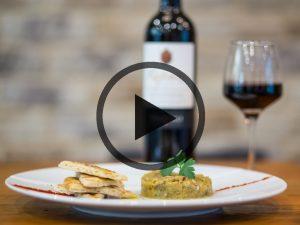 Vidéo – Caviar d'aubergine – Isabella à Montpellier