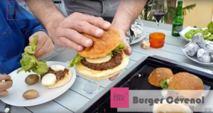 Burger Cévenol avec Grill'Chic