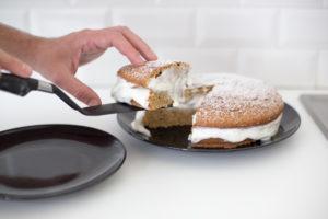 Gâteau aux lentilles corail à index glycémique bas par la diététicienne Fanny Archambault