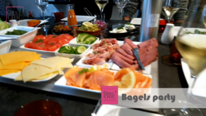 Bagels Party avec Grill'Chic