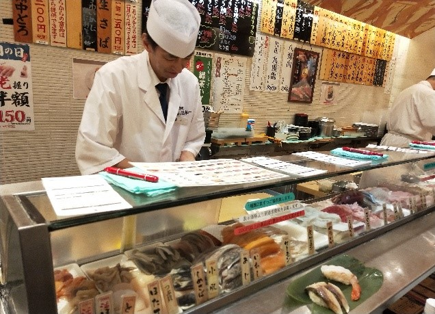 grand tasting tokyo: le sushi stand